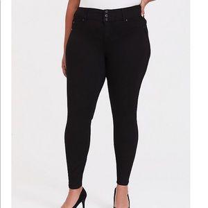 Torrid black jeans, super stretch size 22R